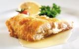 Cá chẽm xốt bơ chanh