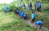 """Phú Giáo:  Ra quân thực hiện chiến dịch """"Môi trường xanh"""" năm 2013"""