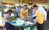 Công đoàn ngành y tế tổ chức hội thi nấu ăn, cắm hoa