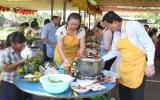 Công đoàn ngành y tế: Tổ chức hội thi nấu ăn, cắm hoa