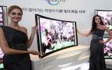 Samsung chính thức bán mẫu TV OLED cong 55 inch