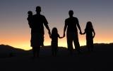Gia đình của con