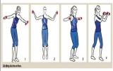 4 động tác đơn giản cho bờ vai thon