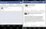 Facebook thử nghiệm giao diện mới trên điện thoại