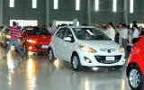 Lô xe Mazda đầu tiên lắp ráp tại Việt Nam đã sang Lào