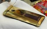 HTC One mạ vàng 24k đầu tiên ở Việt Nam
