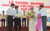 Công ty TNHH MTV Cao su Dầu Tiếng: Tuyên dương CNVC-LĐ xuất sắc 2013