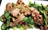 Gỏi bắp bò Thái cay