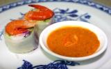 Thịt luộc tôm chua