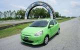 Mirage đưa Mitsubishi trở lại phân khúc xe du lịch