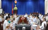 """Phó Chủ tịch UBND Huỳnh Văn Nhị: """"Tiếp tục củng cố hoạt động tại các trung tâm y tế để chăm sóc sức khỏe người dân tốt hơn…"""""""
