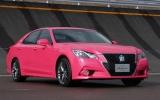Toyota Crown màu hồng cho phái đẹp