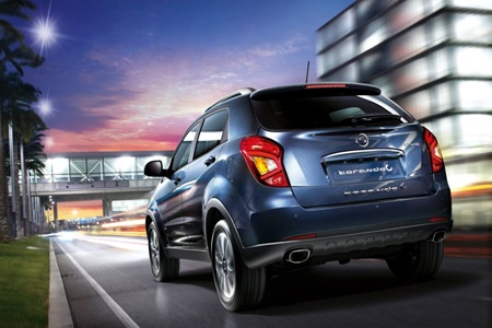 Nhà sản xuất ô tô Hàn Quốc Ssangyong hiện thuộc sở hữu của tập đoàn Mahindra (Ấn Độ).