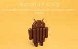 Hệ điều hành Android 4.4 mang tên KitKat