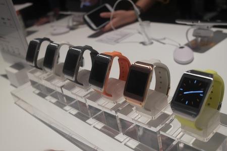 Galaxy Gear sẽ xuất hiện với 6 màu sắc khác nhau