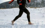 Chạy bộ 19.000 km xuyên quốc gia bằng đôi chân trần