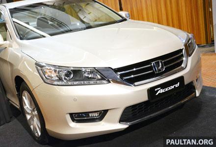 Honda Accord thế hệ mới tại Malaisia có giá bán cụ thể như sau; phiên bản 2.0 VTi là