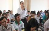 Lãnh đạo tỉnh gặp gỡ CNLĐ trên địa bàn TX.Thuận An