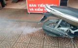 Xe máy phụt khói trắng - hiện tượng nguy hiểm