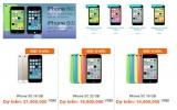 Dịch vụ đặt mua trước iPhone 5S và 5C ở Việt Nam nở rộ