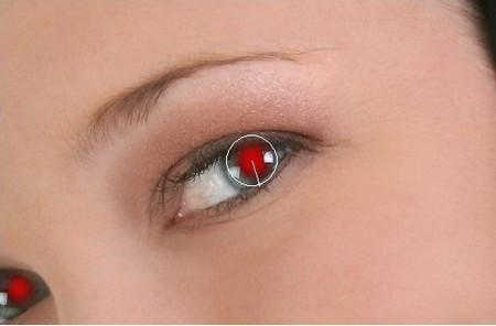 """Tuyệt chiêu """"khử"""" hiện tượng mắt đỏ trên ảnh chỉ cú kích chuột"""