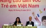 Việt Nam có khoảng 1 triệu trẻ em bị suy dinh dưỡng
