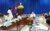 """Chủ tịch UBND tỉnh Lê Thanh Cung: """"Đoàn kết, khai thác trí tuệ, dịch vụ y tế chất lượng cao để đưa bệnh viện lên hạng I vào năm 2015"""""""