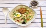 Bún gà kiểu Indonesia nóng hổi cho cả nhà ấm bụng