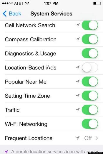 8. Tắt Siri