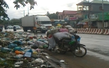Điểm tập kết rác thải đã được dẹp bỏ