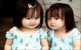 Những cặp sinh đôi đáng yêu
