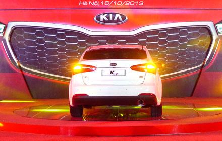 Dân trí sẽ có bài giới thiệu chi tiết mẫu KIA K3 tại Việt Nam trong thời gian tới đây.