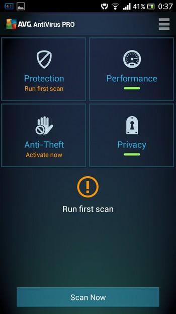 Bản quyền miễn phí ứng dụng bảo mật AVG Antivirus Pro dành cho Android
