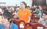 Lãnh đạo tỉnh gặp gỡ, tọa đàm với CNLĐ trên địa bàn huyện Tân Uyên
