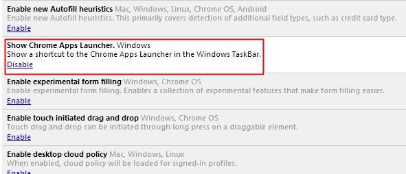 Kích hoạt tính năng Google Launch trong Google Chrome 2