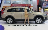 Chevrolet Captiva 2013 ra mắt tại Việt Nam