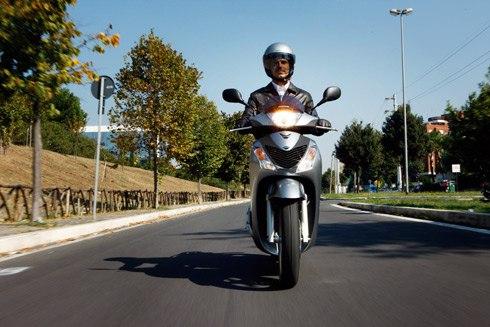 Honda SH, một trong những mẫu scooter ăn khách nhất Italy.