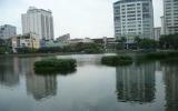Tập thể dục làm sạch hồ nước tại Hà Nội
