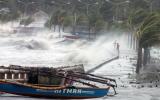 Cuồng phong Haiyan sắp qua Trường Sa, còn cấp 15