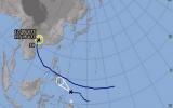 Áp thấp nhiệt đới mới lao nhanh không kém bão Haiyan