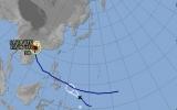 Áp thấp nhiệt đới hướng về biển Đông