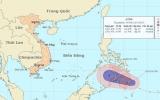 Khả năng mạnh lên thành bão, áp thấp tăng tốc tiến vào biển Đông