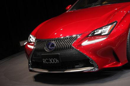 Lexus RC lần đầu tiên ra mắt trên thế giới