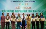 Trao giải thưởng môi trường cho 15 tổ chức, cộng đồng, cá nhân