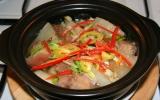 Thịt heo kho củ cải trắng