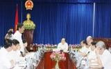 Chủ tịch UBND tỉnh Lê Thanh Cung: Bệnh viện Đa khoa tỉnh cần quan tâm đầu tư xây dựng bổ sung các khoa quan trọng