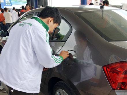 Cụ thể mức tiêu hao nhiên liệu trong hành trình vừa qua như sau: