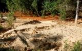 Dân bị thiệt hại do bùn đỏ titan đòi bồi thường 386 triệu đồng