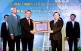 Sở Tài nguyên và Môi trường đón nhận Huân chương Lao động hạng ba