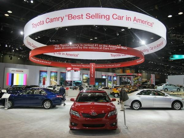 Xe Camry của Toyota bày bán tại Chicago, Illinois (Mỹ)